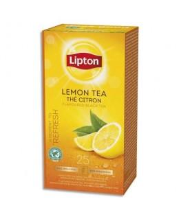 Boîte de 25 sachets de thé citronné - Lipton