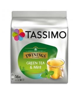 Boîte de 16 sachets de thé vert Twinings - Tassimo