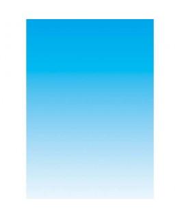 Boîte de 100 feuilles papier couleur recto A4 80g dégradé bleu - Decadry by ®Apli