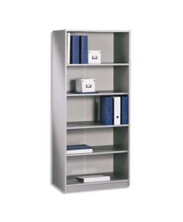 Bibliothèque haute H180 gamme ALU BUDGET - Simmob