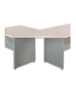 Angle trapèze 90° pour bureau