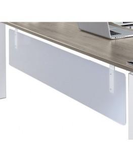 Option voile de fond Steely translucide L150 x H37 x P1.4 cm - Simmob