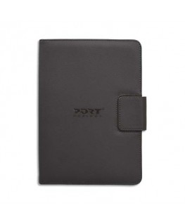 "Folio universel noir en simili cuir 11/12"" - Port® Designs"