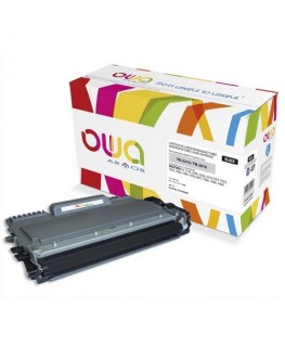 Cartouche toner laser noir compatible Brother® TN-2210 / TN-2010 - Owa by Armor