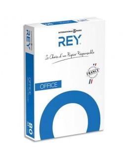 Ramette de 500 feuilles papier blanc Office Document Paper copieur, laser, jet d'encre 80g - Rey® by Papyrus