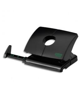 Perforateur 2 trous B216 Re+New éco-responsable, capacité 16 feuilles, coloris noir - Novus®