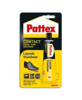 Tube de colle 50g Contact Liquide pour assemblage et placage multi-matériaux - Pattex®