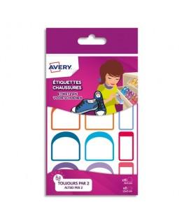 Sachet de 12 paires d'étiquettes Chaussures CHAUS12 - Avery®