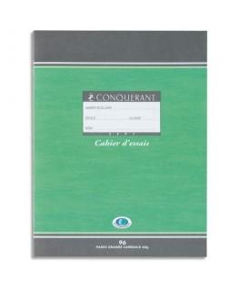 Cahier de brouillon 17 x 22 cm 48 pages grands carreaux papier 56g - Conquérant 7 by Hamelin