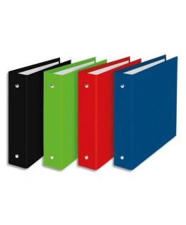 Classeur NORMANDIE format A5 à 2 anneaux de 25 mm en carton pelliculé dos 3.5 cm coloris assortis - Oxford