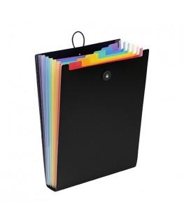 Trieur 6 positions Rainbow Class pour sac à dos, intérieurs multicolores - Viquel