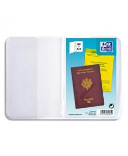 Etui pour passeport, 8.8 x 12.5 cm, PVC 30/100e - Oxford
