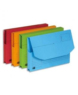 Paquet de 25 pochettes à rabat Ultimate® avec soufflets latéraux, carte Canson®, coloris assortis - Oxford