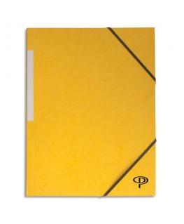 Chemise simple à élastique en carte lustrée 5/10e, 450g - Pergamy