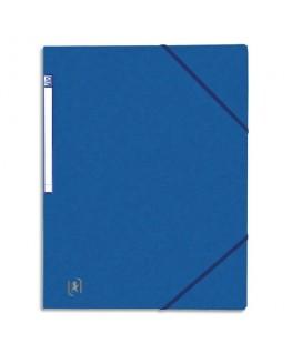 Chemise simple à élastique Top File en carte lustrée 5/10e - Oxford