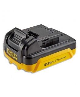 Batterie Jaune Noir technologie Lithium Ion 10.8V 1.5AH pour visseuse Slide Pack FMC021S2-QW - Bostitch®