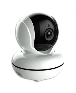 Caméra connectée Smart CE Blanc, photo, port USB, 355d angle 90d, 1080 pixel, portée 10m - Lifebox