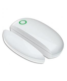 Détecteur d'ouverture porte et fenêtre Smart CE Blanc, 1 CR2450 fournie, 100m - Lifebox