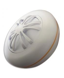 Détecteur chaleur Smart CE Blanc, 2 piles AA fournies, 85 Db à 3m, ∅ 10 cm, H4 cm - Lifebox