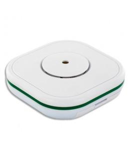 Détecteur monoxyde de carbone Smart Blanc, 2 piles AA fournies, 85Db à 1m - Lifebox