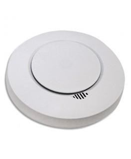 Détecteur de fumée Smart Blanc, 2 piles AA fournies, 85Db à 3m - Lifebox