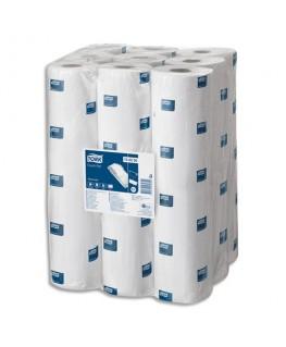 Colis de 9 draps d'examen 152 feuillets 2 plis blanc, format L37.5 x l50 cm, Longueur 57 m - Tork®