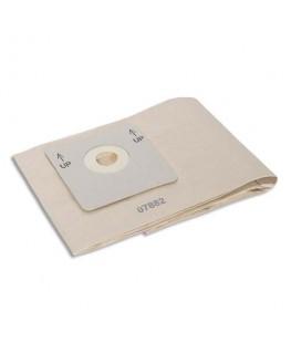 Lot de 10 sacs d'aspiration beige en papier capacité 8 litres pour aspirateur Taski Go - Taski