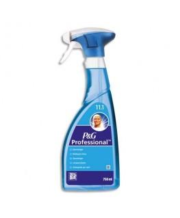 Spray 750 ml nettoyant vitres et surfaces vitrées parfum frais - Mr Propre