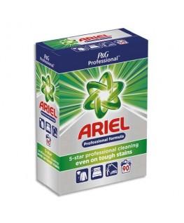 Baril de 90 doses de lessive en poudre tachetée, agit dès 30 degrés, parfum frais - Ariel