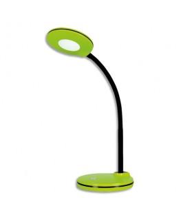 Lampe led Splash kiwi avec variateur, tête ∅10.5 cm, bras flexible H32 cm, socle ∅13 cm - Hansa