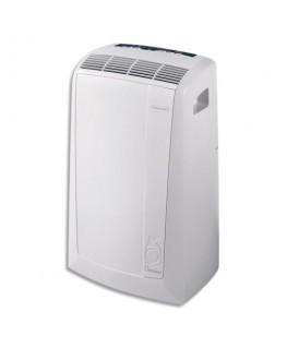 Climatiseur mobile Blanc PAC N 77 ECO, 2400W ventilateur déshumidificateur, gaz R290 - Delonghi