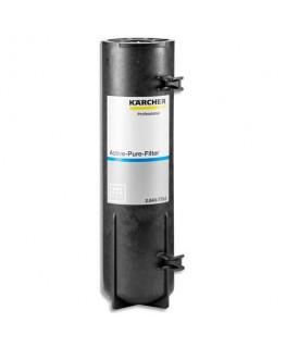 Filtre charbon actif Active-pure Noir, changement 1 fois par an, pour fontaine à eau WPD - Kärcher