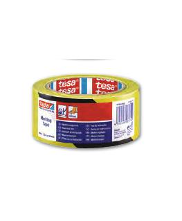 Ruban adhésif PVC 150 de marquage au sol, ruban d'avertissement, 33 m x 50 mm - Tesa®