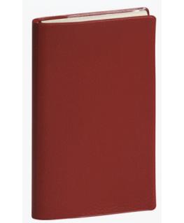 Semainier Temporel Barbara 16, 1 semaine sur 2 pages à l'italienne 16 x 8.5 cm couverture PVC assortis - Exacompta