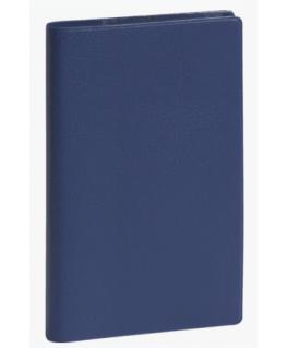 Semainier SL17 ultra mince 1 semaine sur 1 page, 17.5 x 9 cm couverture PVC assorties - Exacompta