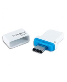 Clé USB 3.0 Dual Fusion double connectique Type-C - Integral