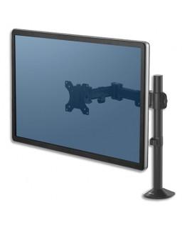 Bras porte-écran double à pince Reflex - Fellowes®