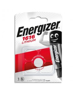 Blister de pile lithium calculatrices/photo CR1616 - Energizer®
