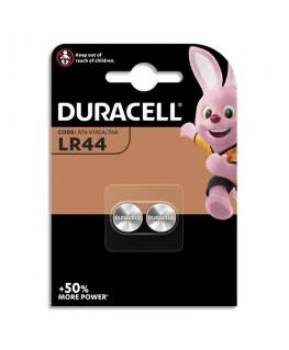 Blister de 2 piles Alcalines LR44 Duralock pour appareils électroniques - Duracell®