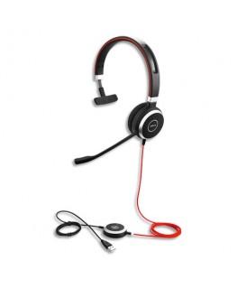 Micro-casque professionnel Evolve 40 UC Mono USB MS - Jabra
