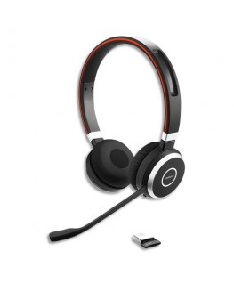 Micro-casque Evolve 65 UC Duo USB MS - Jabra