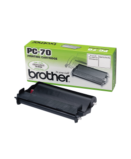 Ruban transfert thermique PC70 pour fax T74-76 - Brother®