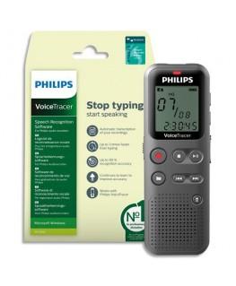Enregistreur numérique Voice Tracer DVT1110 + DVT2805 DVT1115/00 - Philips