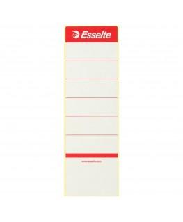 Sachet de 10 étiquettes adhésives pour classeur à levier dos 7 cm - Esselte®