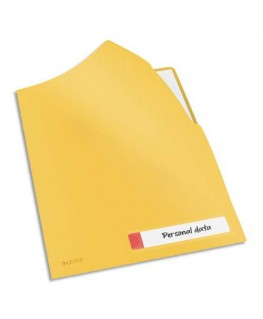 Chemise Cosy simple en polypropylène jaune - Leitz®