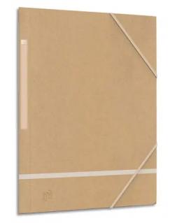 Chemise 3 rabats à élastiques Touareg en carte recyclé - Oxford