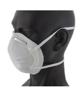 Boîte de 15 demi masques coque FFP2, normes 95 et EN 149 : 2001 + A1 : 2009
