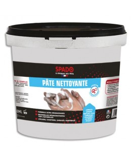 Pot 750 ml de pâte nettoyante, dégraissante à microbilles, spécial atelier - Spado