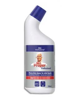 Flacon 750 ml gel WC nettoyant et détartrant parfum frais - Mr Propre
