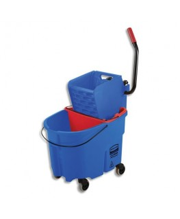 Seau lavage à plat Combo WaveBrake + seau 33 /17L + Presse latérale - Rubbermaid®